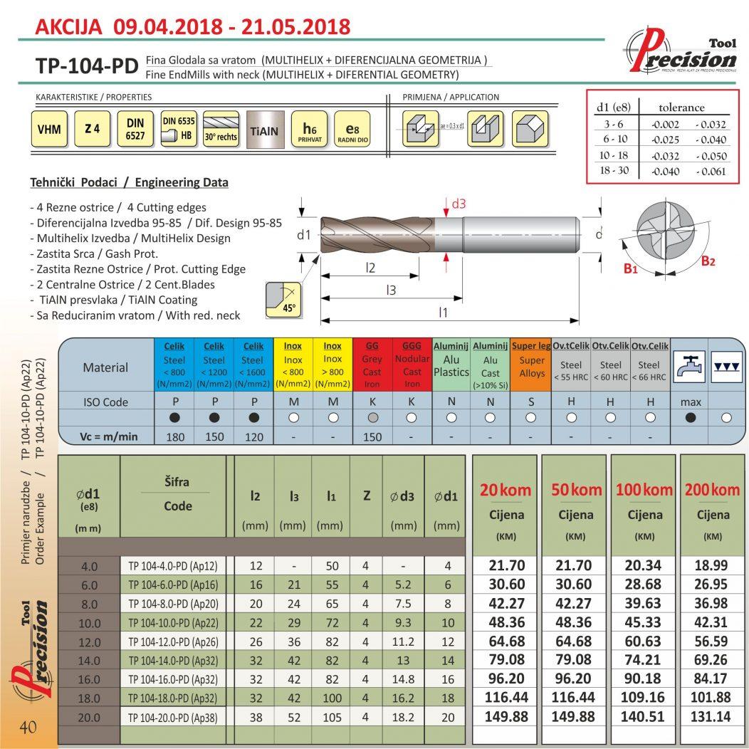 TP-104-PD AKCIJSKA CIJENA - NEWSLETTER FORMAT